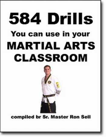 Ron Sell - 584 Drills You can Use in Zour Martial Arts Classroom