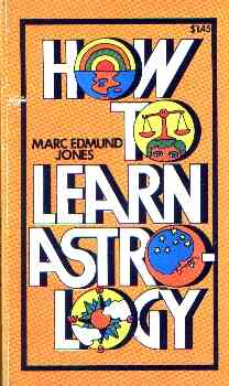 Marc Edmund Jones - How to Learn Astrology