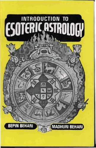 Bepin Behari - Introduction to Esoteric Astrology