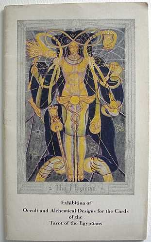 Aleister Crowley - Exhibition of Occult and Alchemical Designs