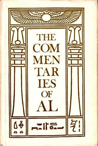 Aleister Crowley - The Commentaries of AL
