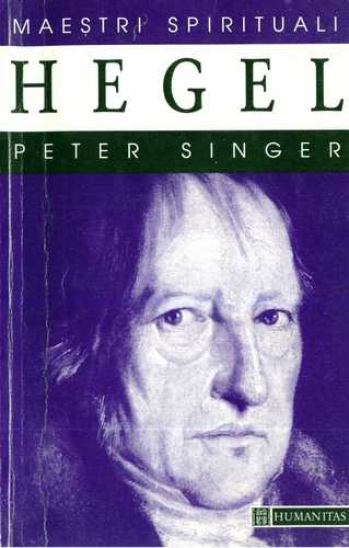 Peter Singer - Hegel