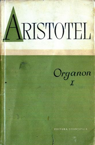 Aristotel - Organon (vol. 1)
