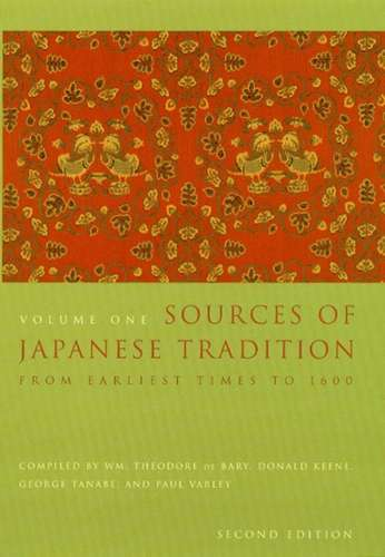 W.M. Theodore - Sources of Japanese Tradition