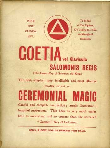 Goetia - The Lesser Key of Solomon the King