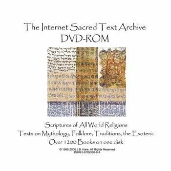 The Internet Sacred Text Archive DVD-ROM