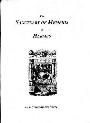 E.J. Marconis - The Sanctuary of Memphis or Hermes