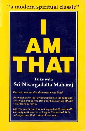 Sri Nisargadatta Maharaj - I Am That