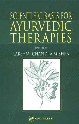 Lakshmi Chandra Mishra - Scientific Basis for Ayurvedic Therapy