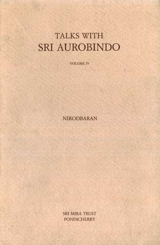 Nirodbaran - Talks with Sri Aurobindo