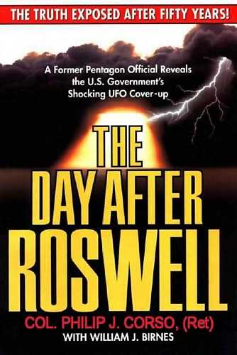Philip J. Corso - The Day after Roswell