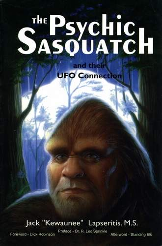Jack Lapseritis - The Psychic Sasquatch and their UFO Connection