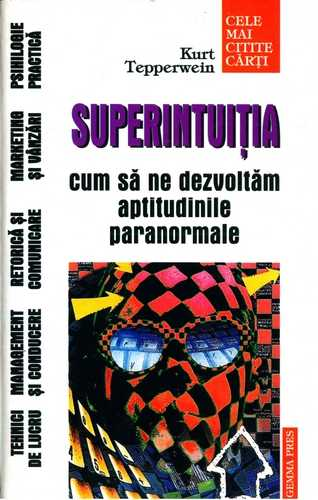 Kurt Tepperwein - Superintuiţia