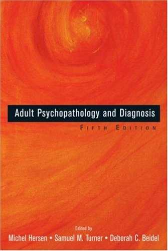 Michel Hersen (ed.) - Adult Psychopatology and Diagnosis