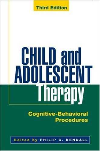 Philip Kendall (ed.) - Child and Adolescent Therapy