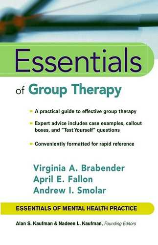 Virginia A. Brabender - Essentials of Group Therapy
