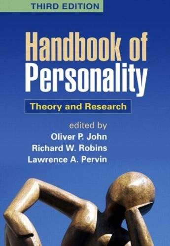 Oliver P. John - Handbook of Personality - Theory and Research