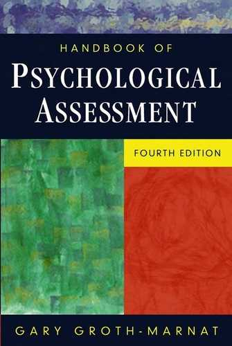 Gary Groth-Marnat - Handbook of Psychological Assessment