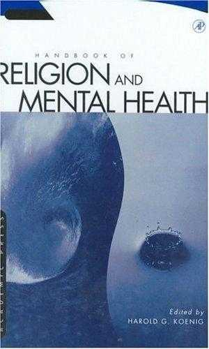 Harold G. Koenig - Handbook of Religion and Mental Health