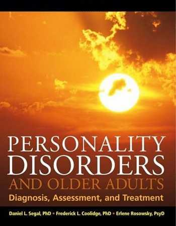 Daniel L. Segal - Personality Disorders and Older Adults
