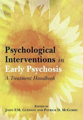 John Glefson - Psychological Interventions in Early Psychosis