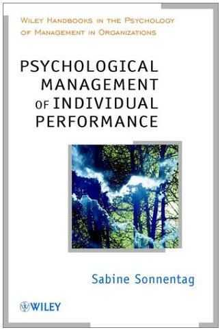 S.Sonnentag - Psychological Management of Individual Performance