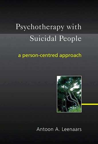 Antoon Leenaars - Psychotherapy with Suicidal People