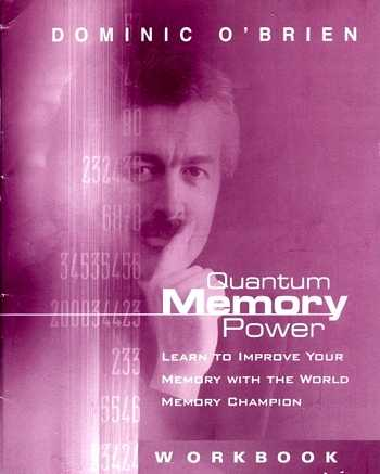 Dominic O'Brien - Quantum Memory Power