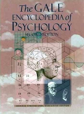 R. Strickland (ed.) - The Gale Encyclopedia of Psychology