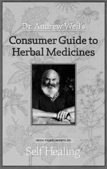 Andrew Weill - Consumer Guide to Herbal Medicines