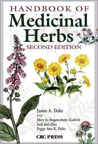 James A. Duke - Handbook of Medicinal Herbs