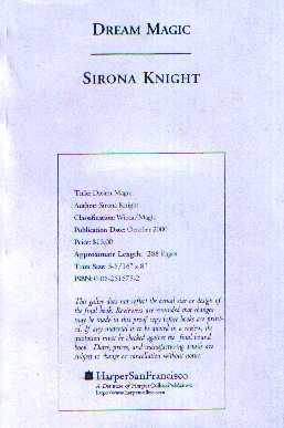 Sirona Knight - Dream Magic