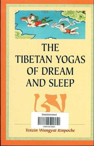 Tenzin Wangyal Rinpoche - The Tibetan Yogas of Dream and Sleep