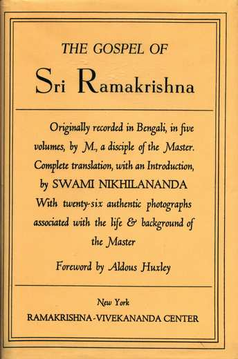 Sri Ramakrishna - The Gospel of Sri Ramakrishna
